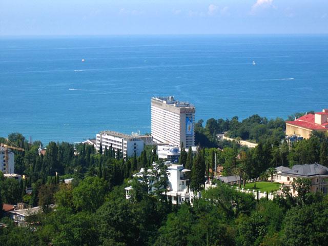 Sochi and black sea resort russia